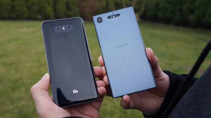 Porównanie klasyki i współczesności - Sony Xperia XZ1 vs LG G6 27