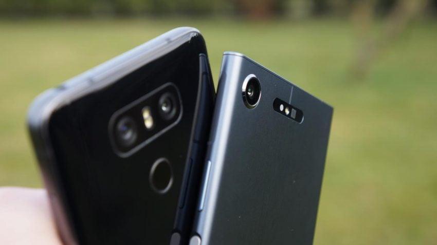 Porównanie klasyki i współczesności - Sony Xperia XZ1 vs LG G6 31