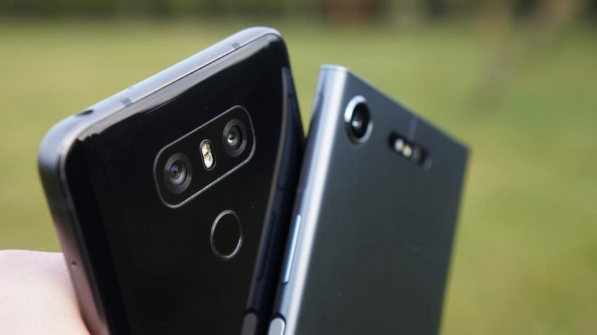 Tabletowo.pl Porównanie klasyki i współczesności - Sony Xperia XZ1 vs LG G6 Android LG Porównania Smartfony Sony