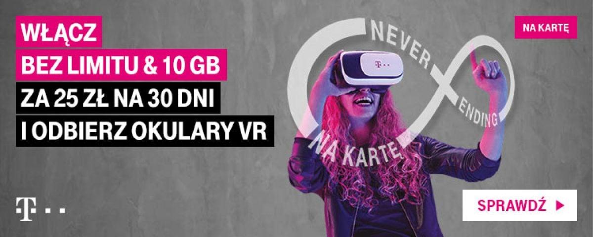 Tabletowo.pl T-Mobile od jutra będzie rozdawać gogle wirtualnej rzeczywistości. Co trzeba zrobić, żeby je odebrać? GSM Promocje Wirtualna rzeczywistość