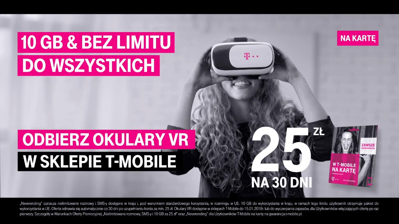 T-Mobile od jutra będzie rozdawać gogle wirtualnej rzeczywistości. Co trzeba zrobić, żeby je odebrać? 25