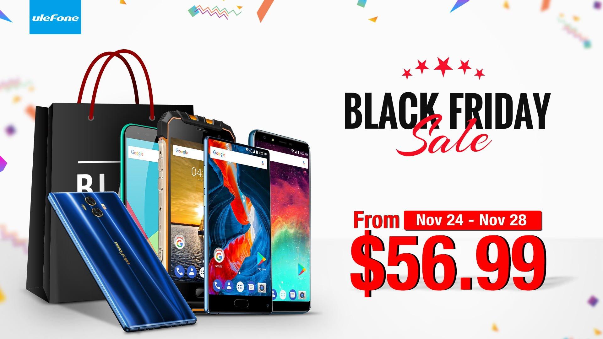 Tabletowo.pl Ulefone przypomina, że ma dla Was ciekawą ofertę specjalnie na Czarny Piątek Android Chińskie Promocje Smartfony