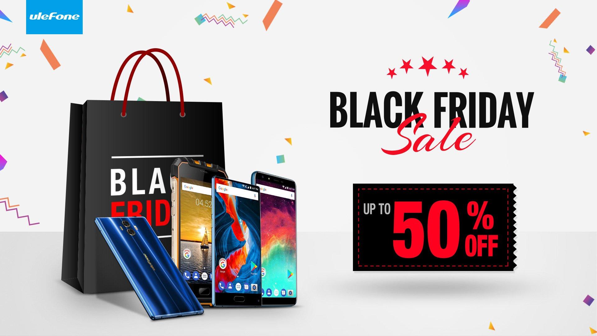 Tabletowo.pl Black Friday 2017 w wydaniu Ulefone to obniżki cen smartfonów nawet o 50% Android Chińskie Promocje Smartfony