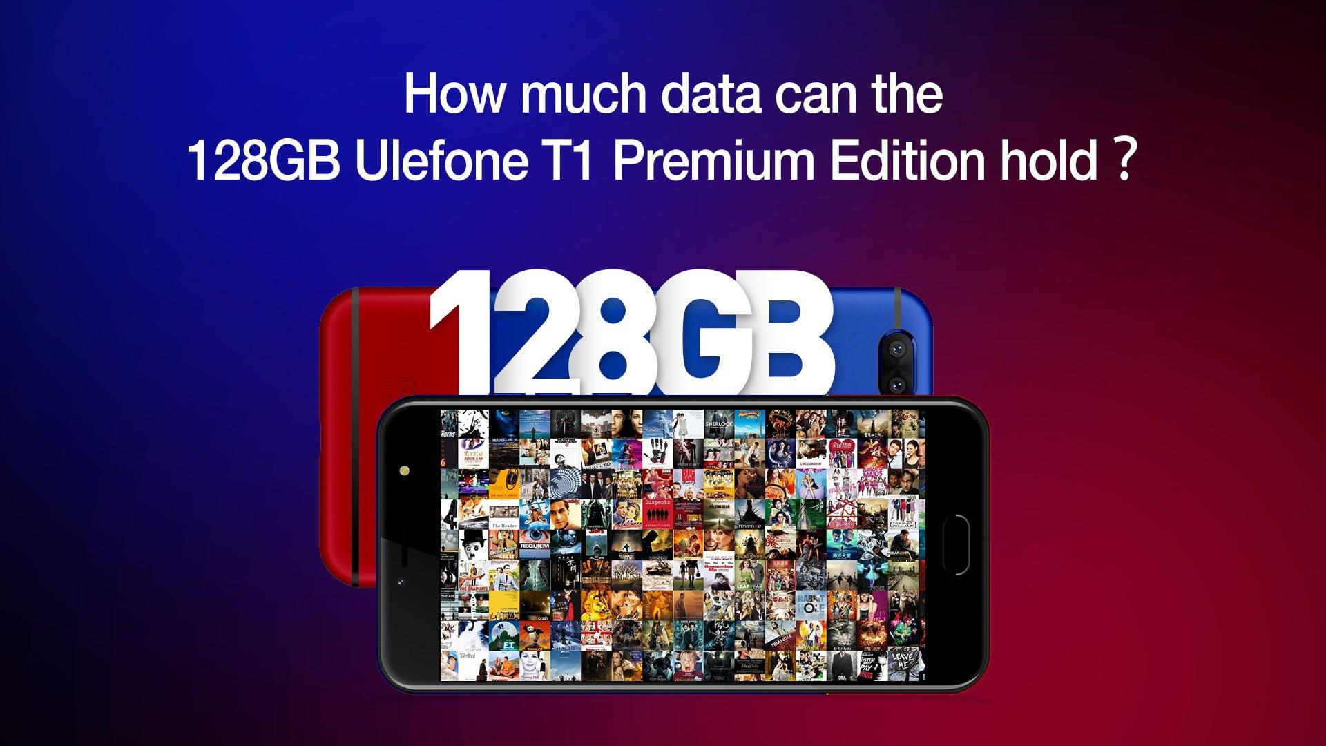 Ile plików można zmieścić w smartfonie ze 128 GB pamięci wewnętrznej na przykładzie Ulefone T1 Premium Edition 21