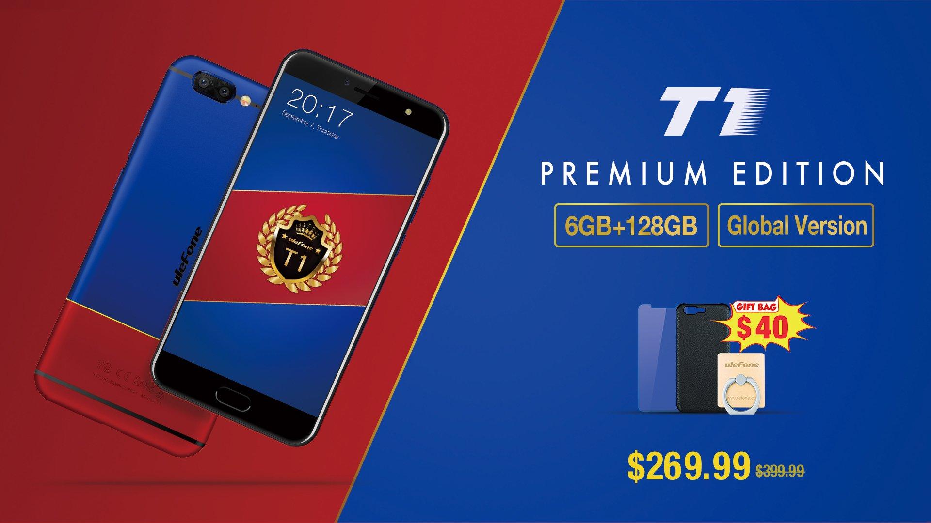 Tabletowo.pl Takie promocje lubimy: Ulefone T1 Premium Edition taniej aż o 130 dolarów! Android Chińskie Smartfony