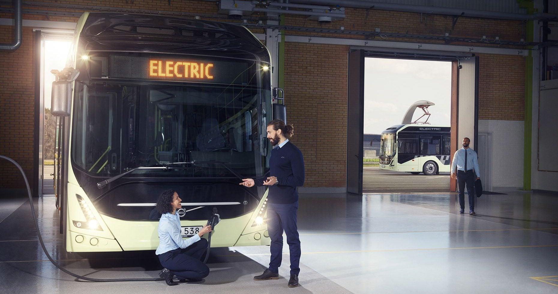 Volvo odświeża swój elektryczny autobus, Volvo 7900 Electric 20