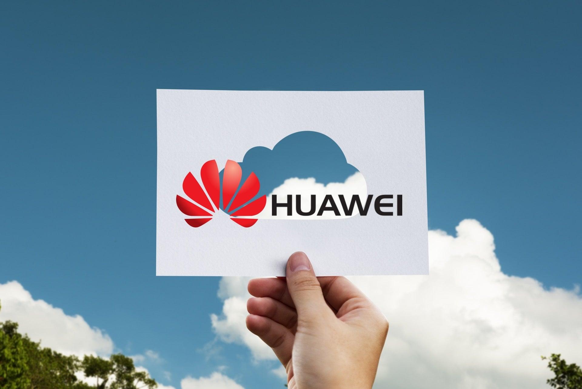 cloud chmura Huawei logo
