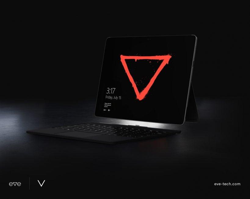 Tabletowo.pl Nadchodzi zabójca hybrydowych flagowców: Eve V jest jak Surface Pro, tylko znacznie, znacznie tańszy Hybrydy Nowości