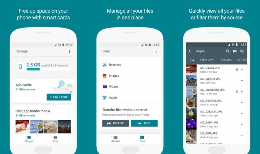 Tabletowo.pl Google przygotowuje aplikację Files Go, czyli własny menedżer plików Android Aplikacje Google Nowości