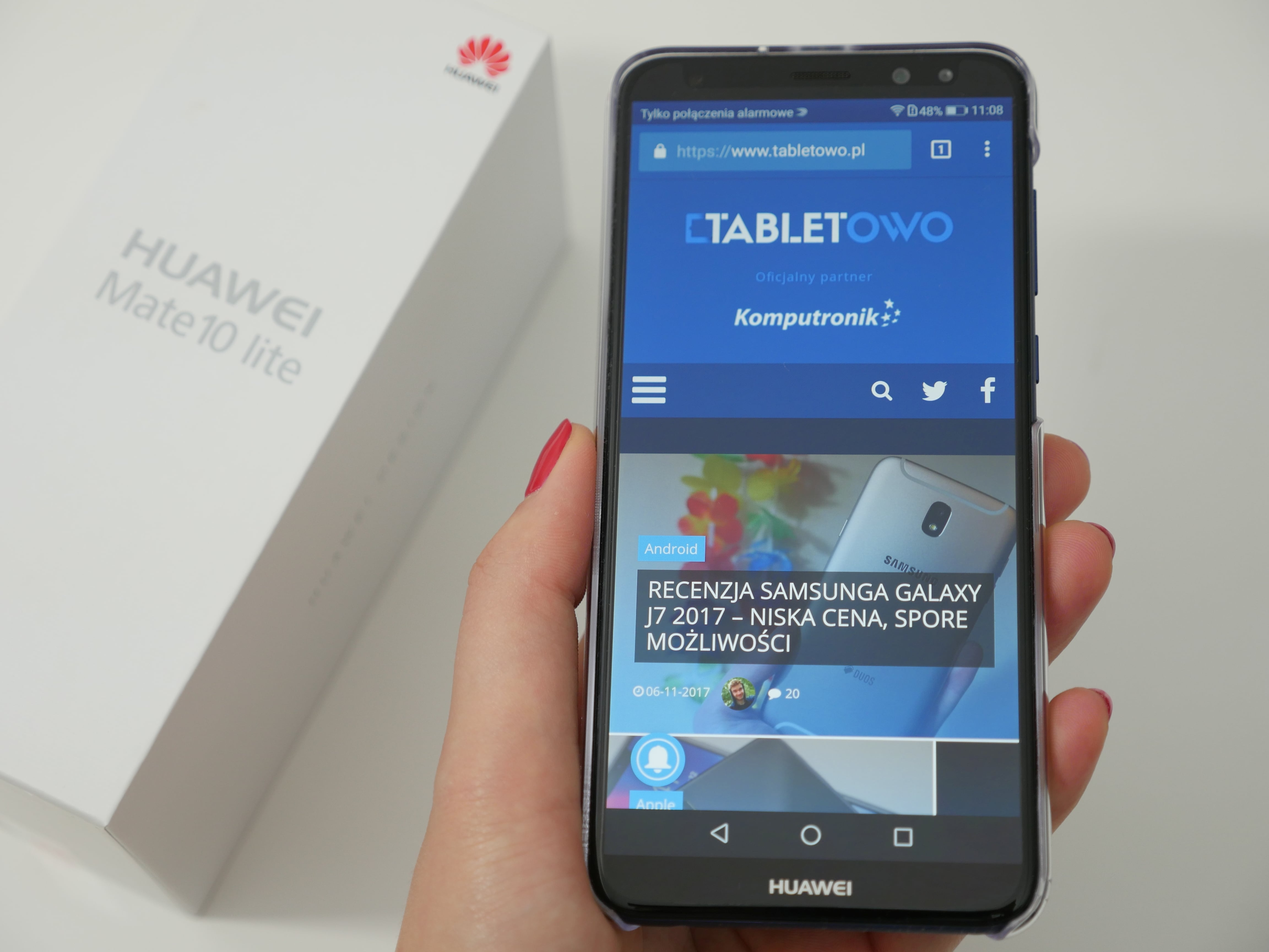 Tabletowo.pl Testujemy Huawei Mate 10 Lite Android Huawei Smartfony