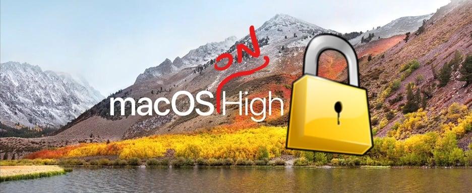 Tabletowo.pl Pracujesz na macOS High Sierra? Uważaj, system ma poważną dziurę w zabezpieczeniach Apple Bezpieczeństwo