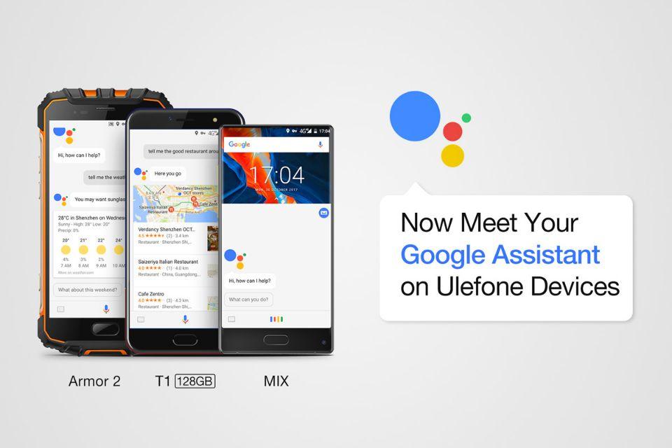 Tabletowo.pl Do grona smartfonów z wbudowanym Google Assistant dołącza Ulefone Chińskie