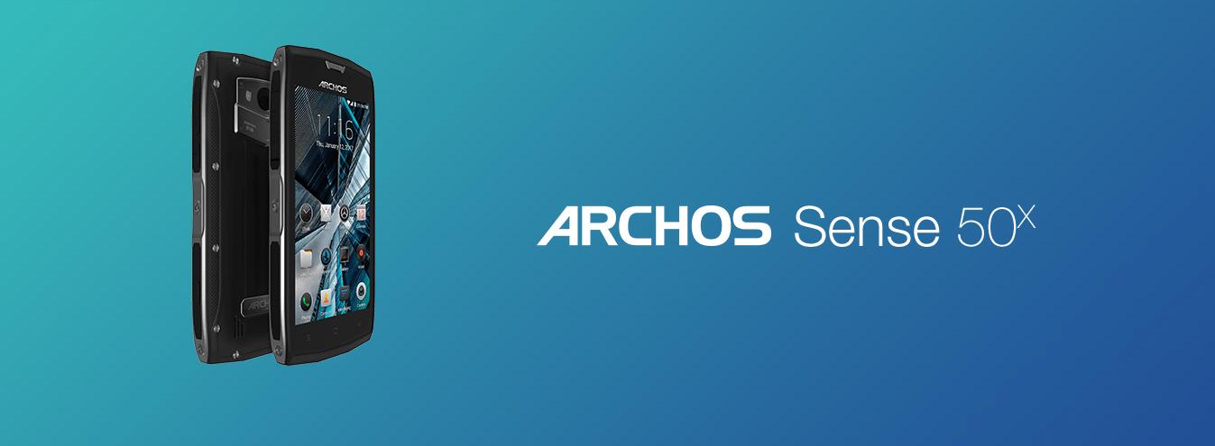 Tabletowo.pl Archos Sense 55S i Archos Sense 50X zadebiutowały w Polsce Android Archos Smartfony