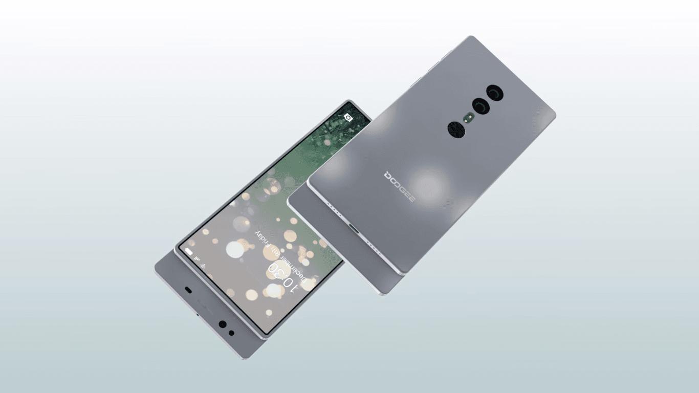 """Tabletowo.pl Doogee będzie mieć w ofercie """"bezramkowy"""" smartfon z wysuwaną kamerką, głośnikiem i czujnikami Android Chińskie Smartfony"""