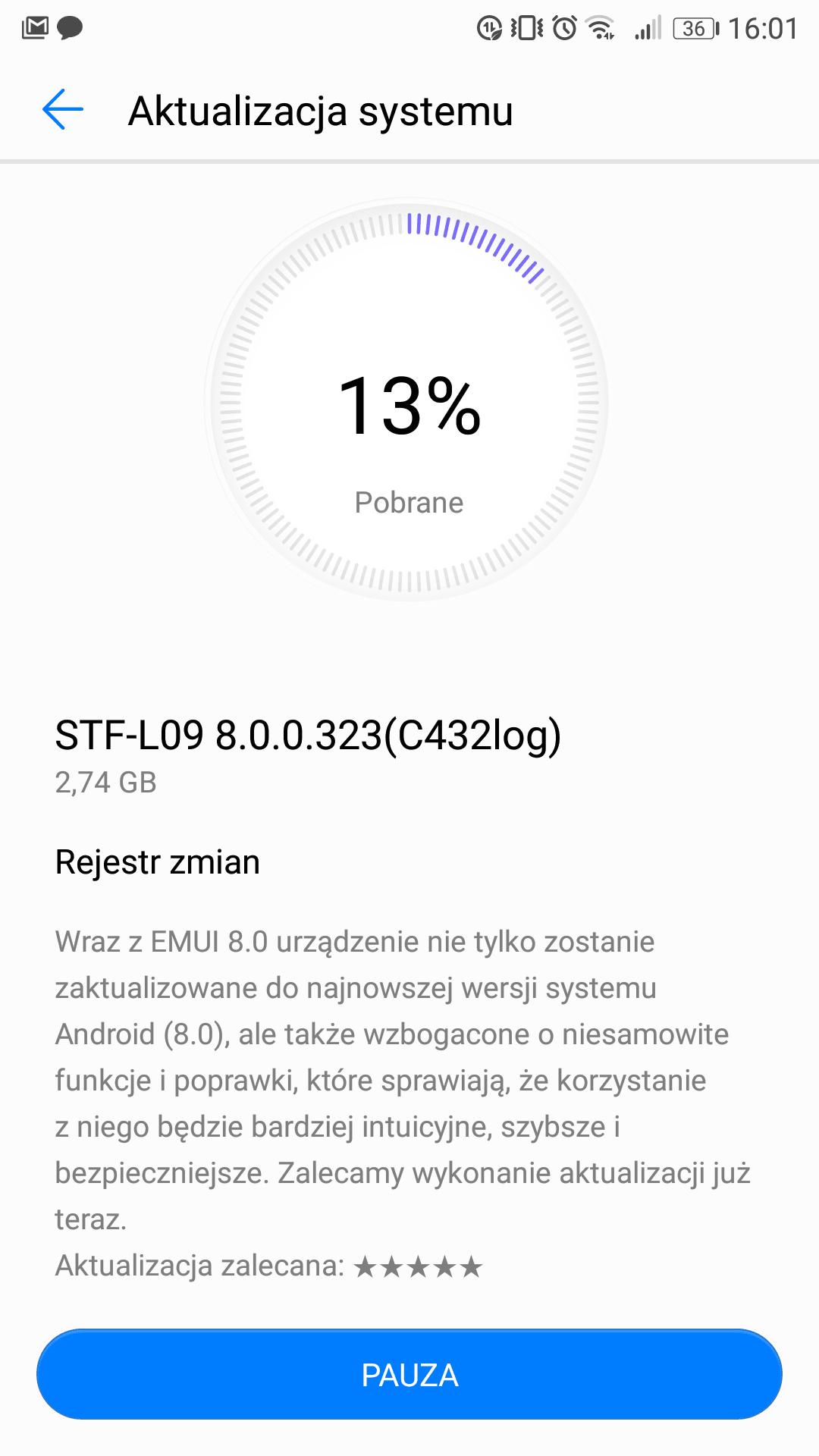 Tabletowo.pl Właściciele Honor 9, możecie już oficjalnie zapisać się na beta testy Androida 8.0 Oreo! Android Huawei Smartfony