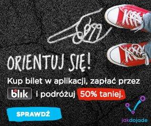 Warszawa, Trójmiasto i Leszno - Z BLIKIEM w Jakdojade.pl przez miesiąc jazda komunikacją miejską o połowę taniej! 21