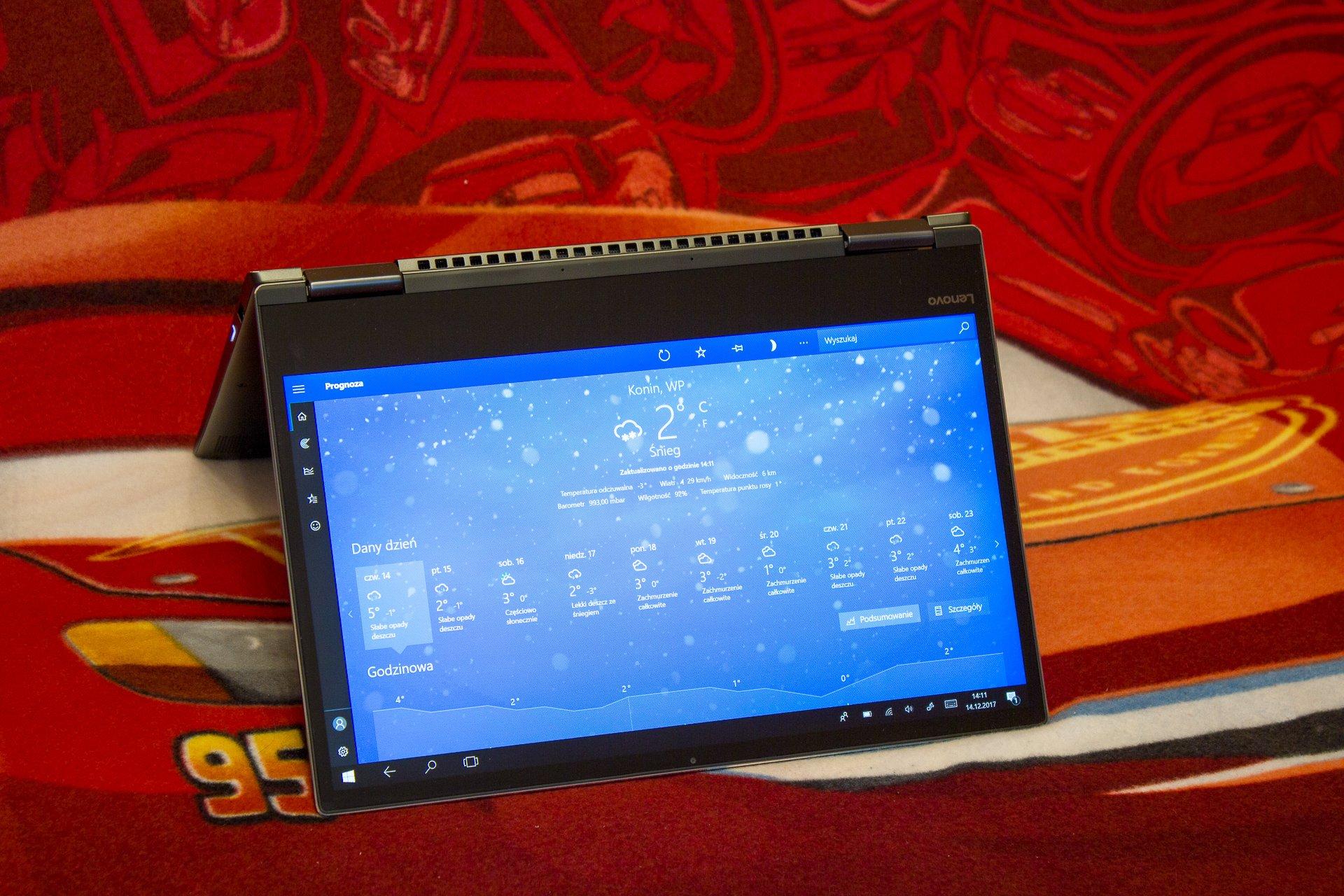 Recenzja Lenovo Yoga 720-13IKB - mały, ale wariat 20