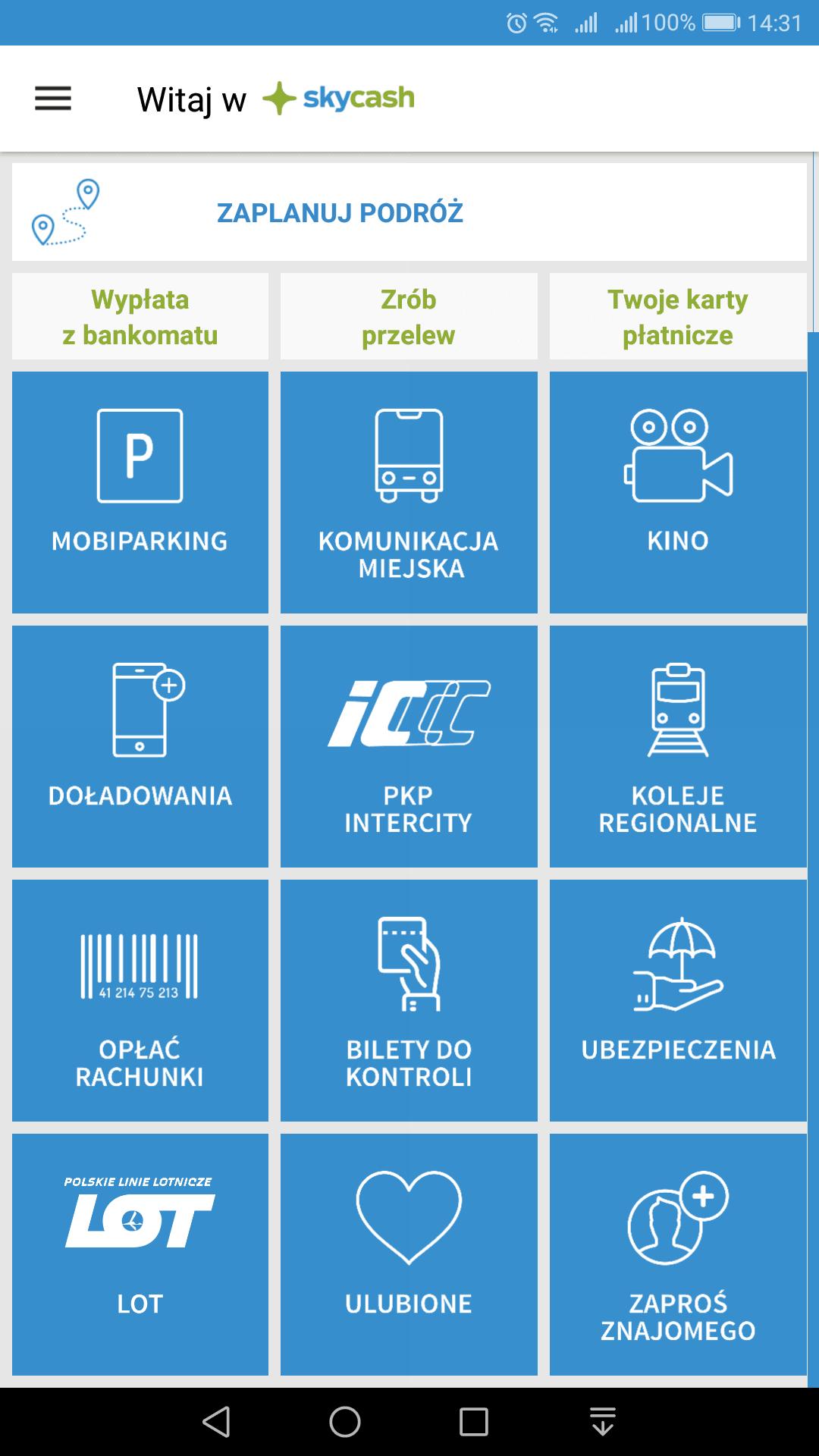 Tabletowo.pl Od teraz w aplikacji SkyCash kupisz bilet również na... samolot. I można nawet trochę zaoszczędzić Nowości