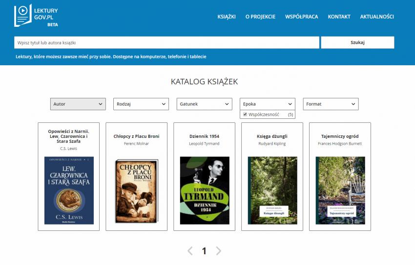 Tabletowo.pl lektury.gov.pl - pochwała bylejakości Książki Kultura