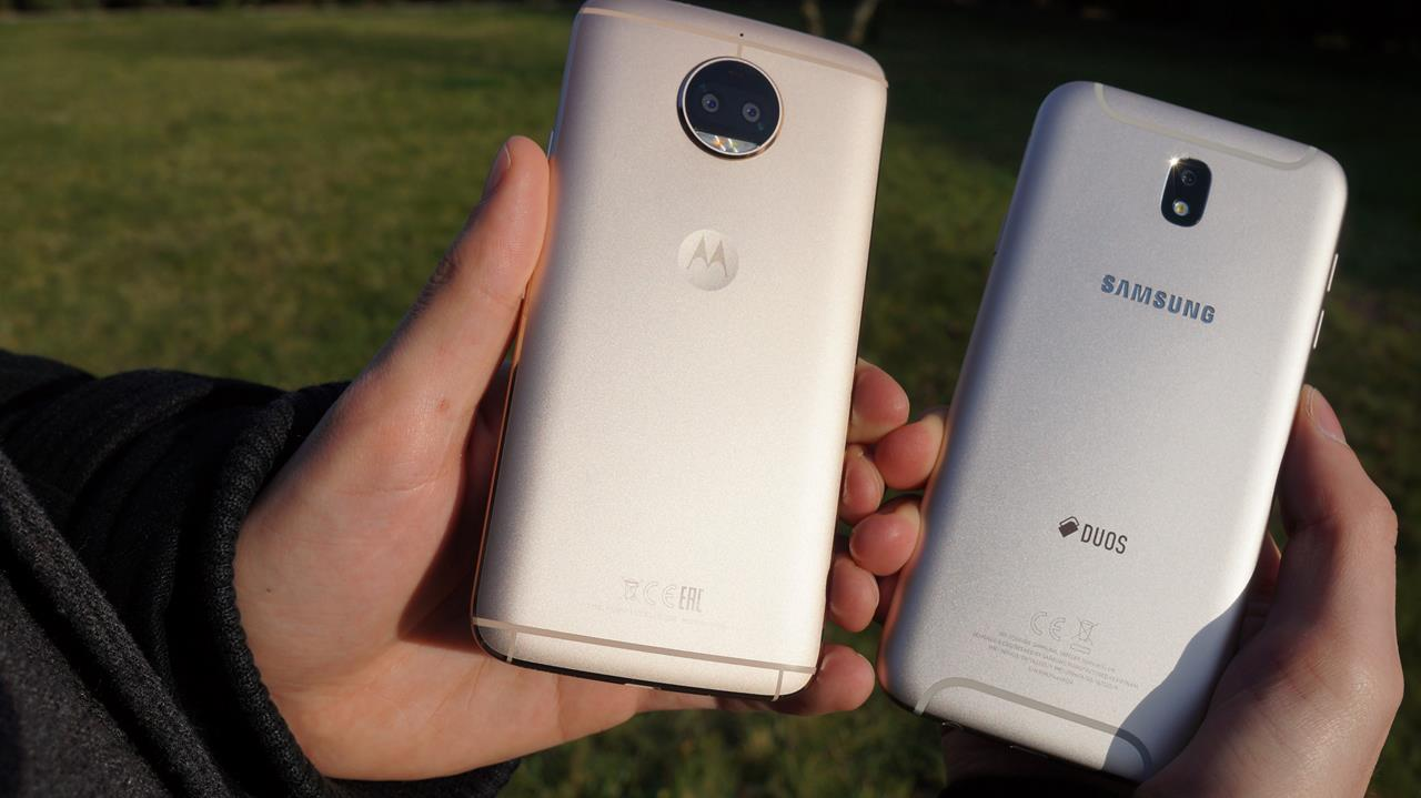 Porównanie dwóch ciekawych średniaków - Samsung Galaxy J7 2017 vs Motorola Moto G5S Plus 21