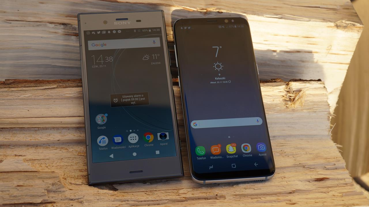 Porównanie: Samsung Galaxy S8 vs Sony Xperia XZ1, czyli kolejne zderzenie klasycznego i nowoczesnego podejścia do smartfona 186