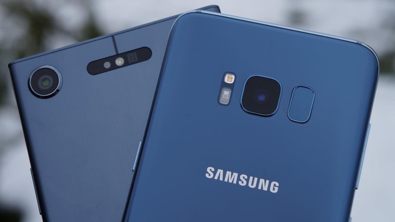 Tabletowo.pl Porównanie: Samsung Galaxy S8 vs Sony Xperia XZ1, czyli kolejne zderzenie klasycznego i nowoczesnego podejścia do smartfona Android Porównania Samsung Smartfony Sony