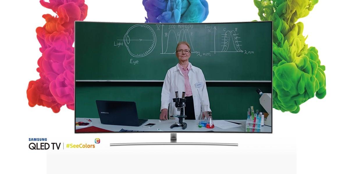 Tabletowo.pl Aplikacja SeeColors może zmienić sposób, w jaki patrzysz na swój telewizor Samsung QLED TV Android Aplikacje Nowości Samsung Smartfony TV