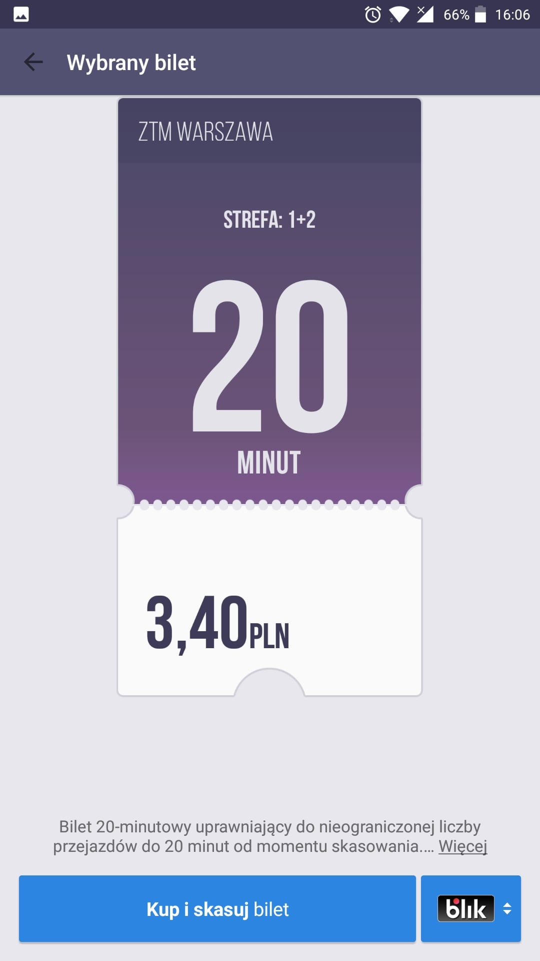 Od dziś kupisz bilet na komunikację miejską w Warszawie również w aplikacji Jakdojade