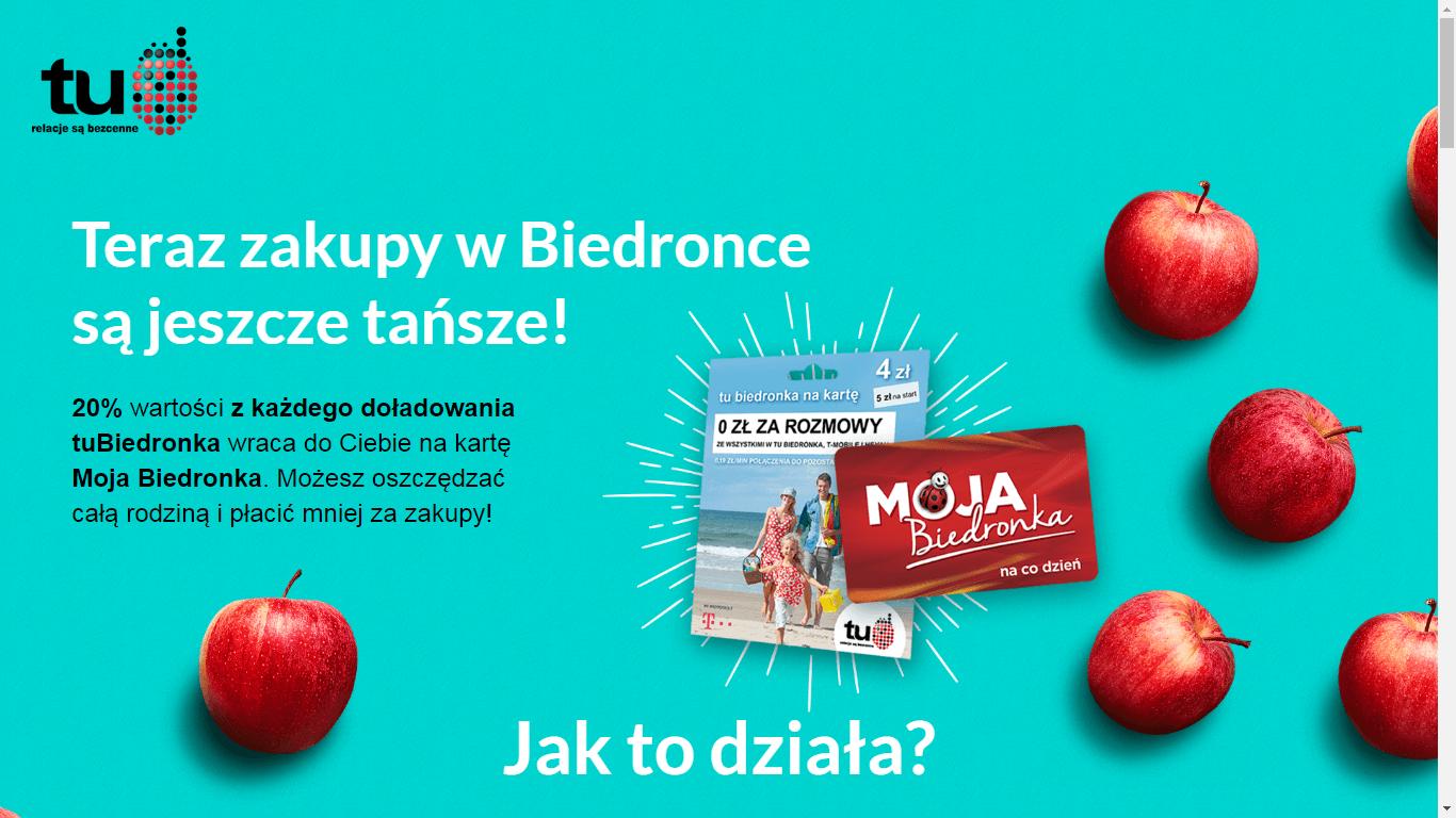 Tabletowo.pl Teraz bardziej niż kiedykolwiek posiadaczom karty Moja Biedronka opłaca się mieć numer w sieci TuBiedronka GSM Promocje