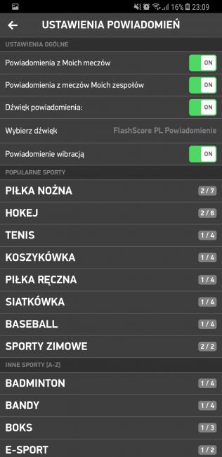 Tabletowo.pl Aplikacja tygodnia #14 - Flashscore Aplikacje Cykle Recenzje Aplikacji/Gier