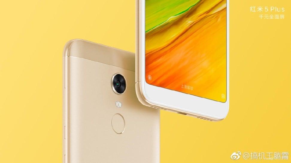 Xiaomi powoli kończy z dotykowymi przyciskami pod ekranem. Oto dowód - grafiki Redmi 5 i Redmi 5 Plus 18