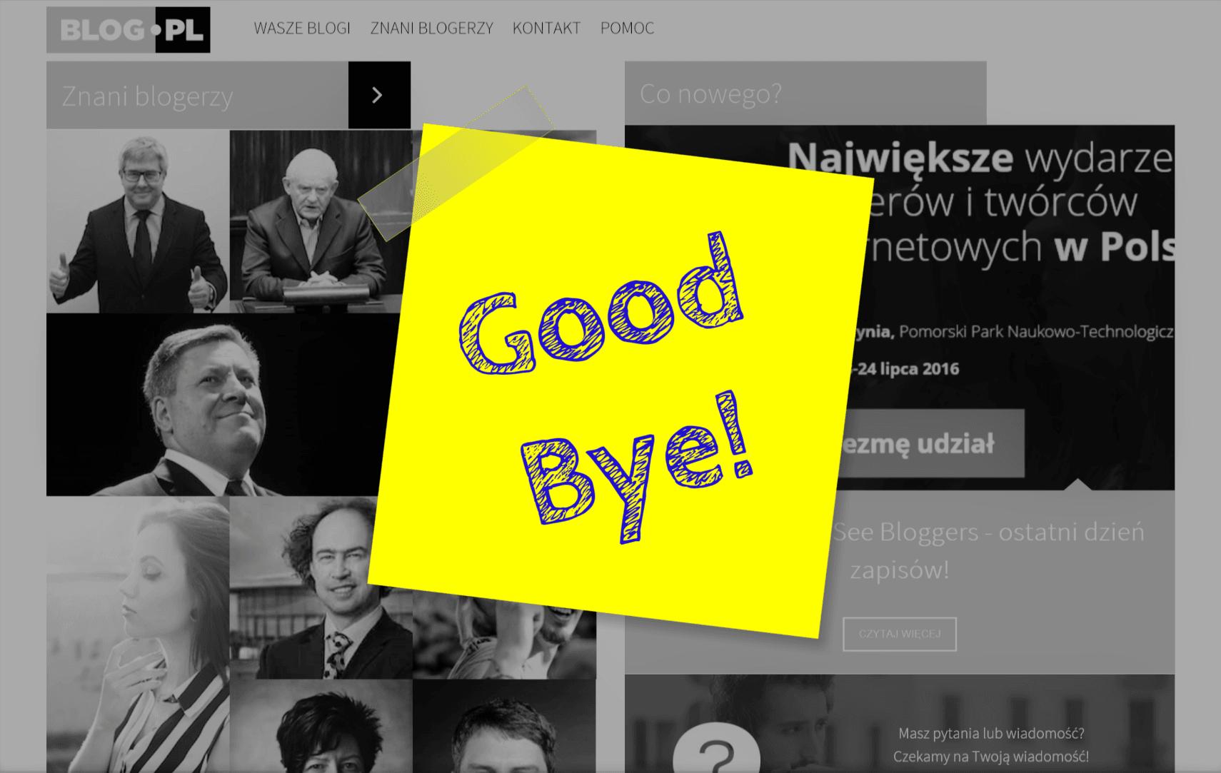 Tabletowo.pl Blog.pl się kończy. Onet zamknie serwis w styczniu 2018 roku Wydarzenia