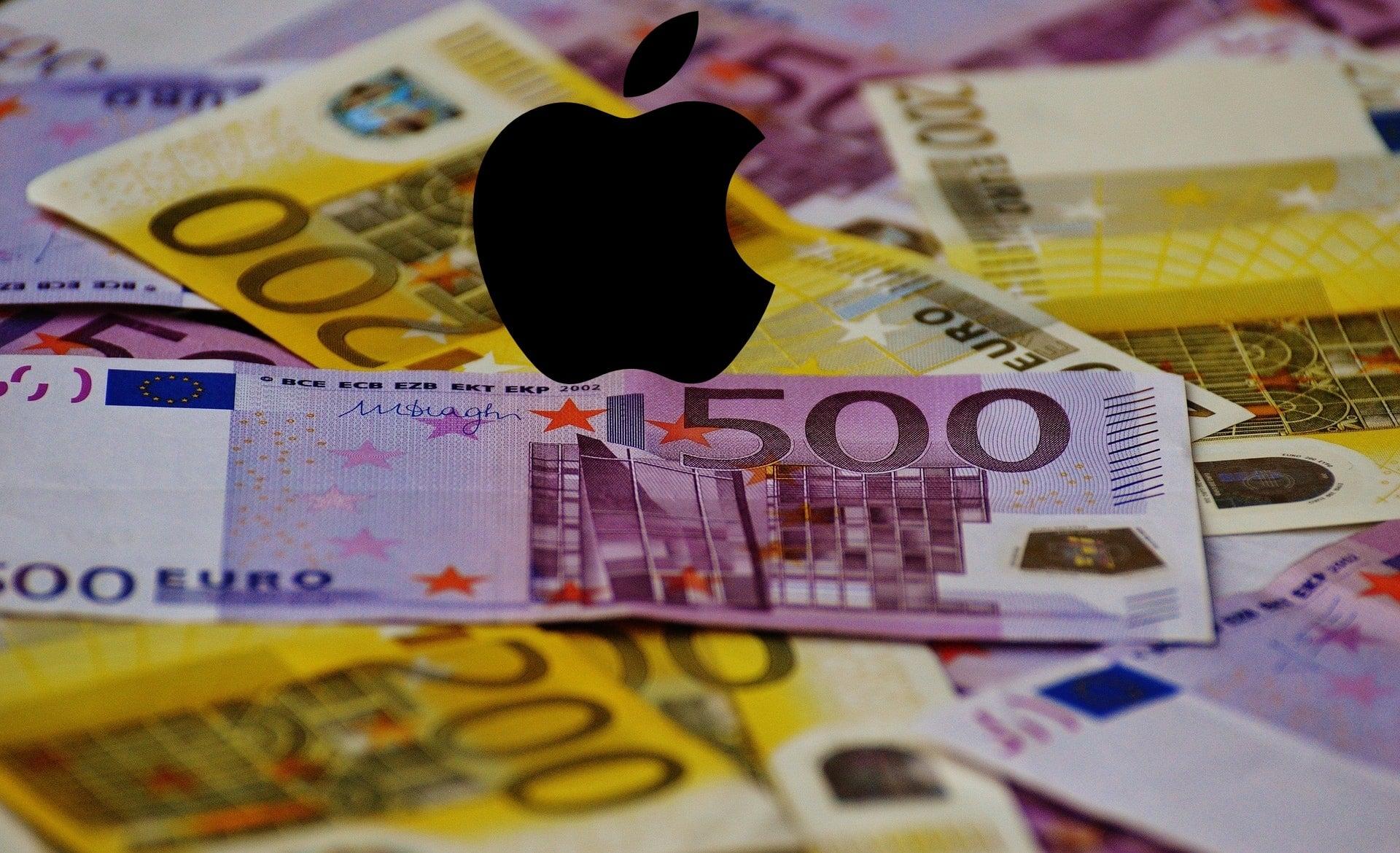 Apple logo euro