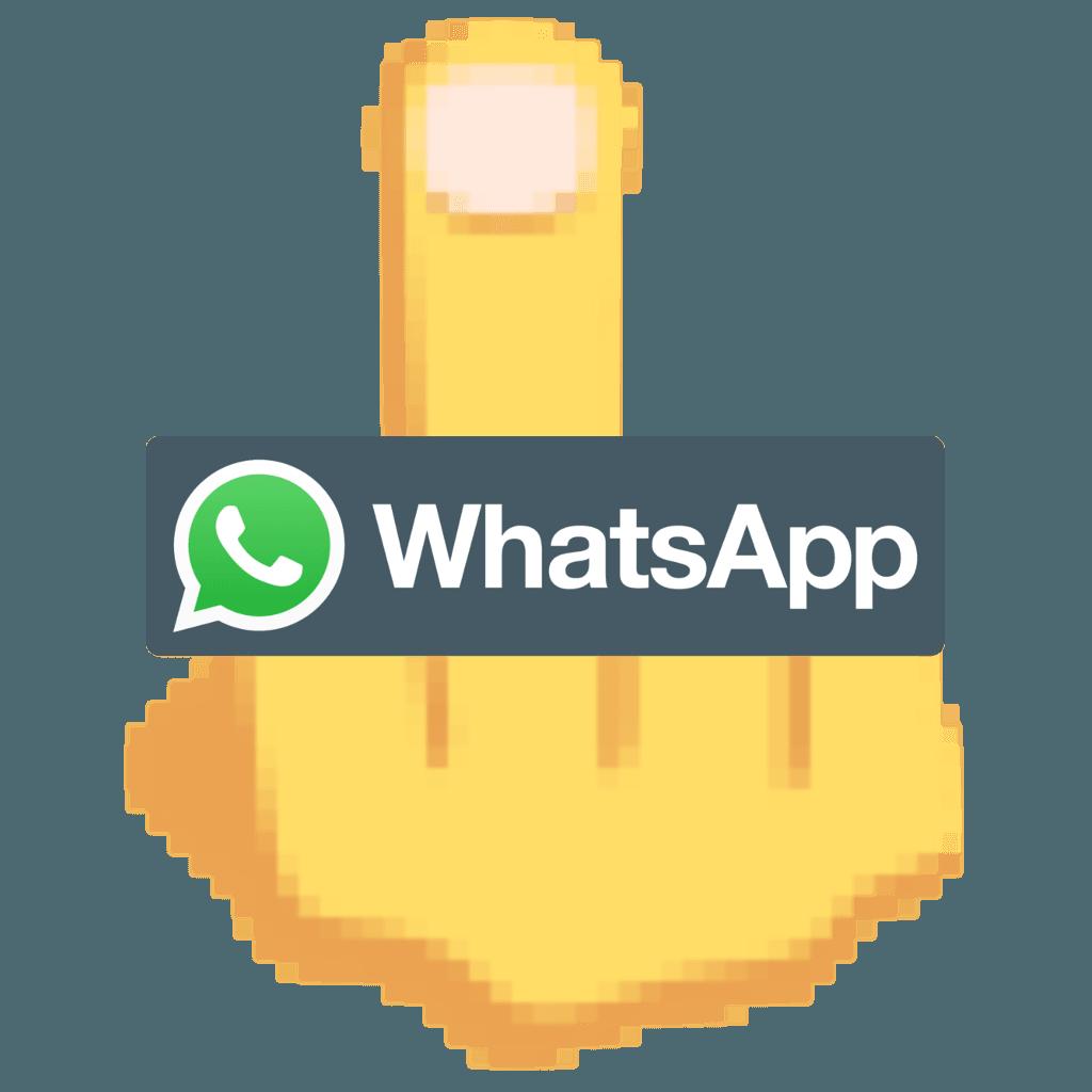 """WhatsApp w Indiach może dostać nakaz usunięcia emotikony """"środkowego palca"""" z aplikacji 23"""