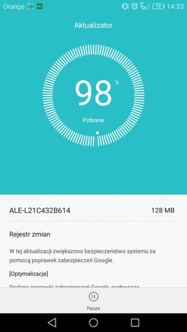 Huawei P8 Lite jest na rynku już prawie trzy lata, a wciąż dostaje kolejne aktualizacje 21