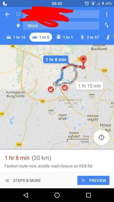 Smigasz Na Motocyklu Od Teraz Mapy Google Maja Dla Ciebie