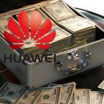 pieniądze money Huawei logo