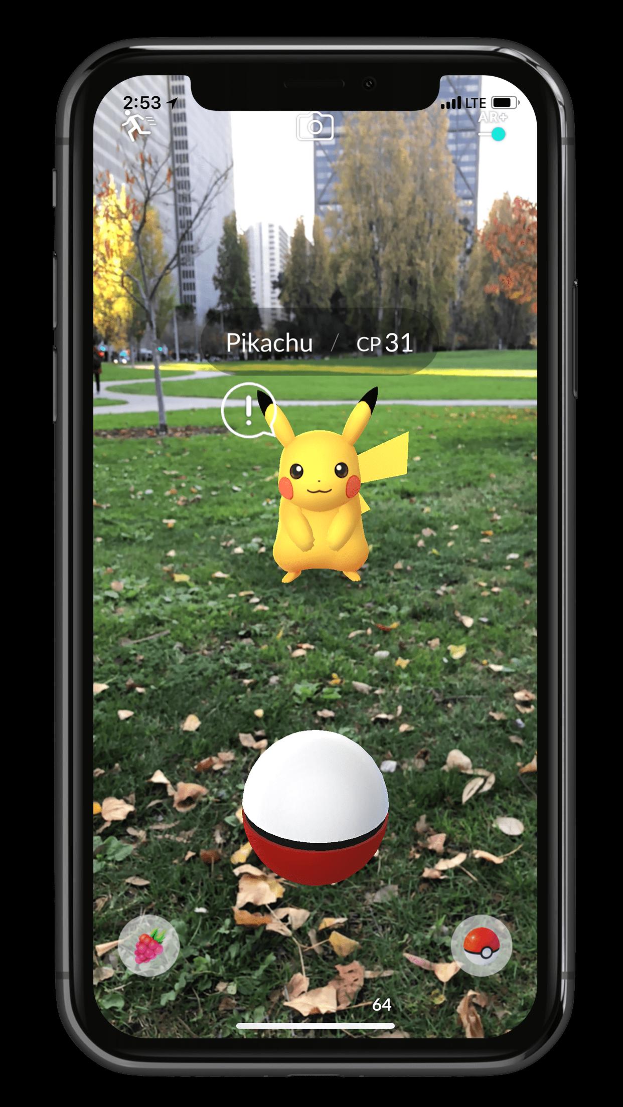 Pokemon Go: rozszerzona rzeczywistość od teraz jeszcze lepsza