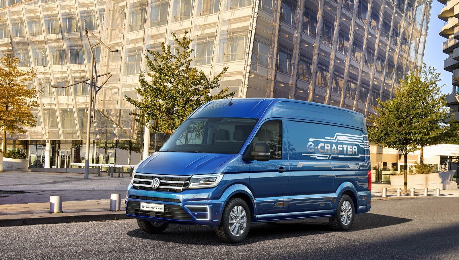 Elektryczny dostawczak od Volkswagena wyjeżdża na drogi 19