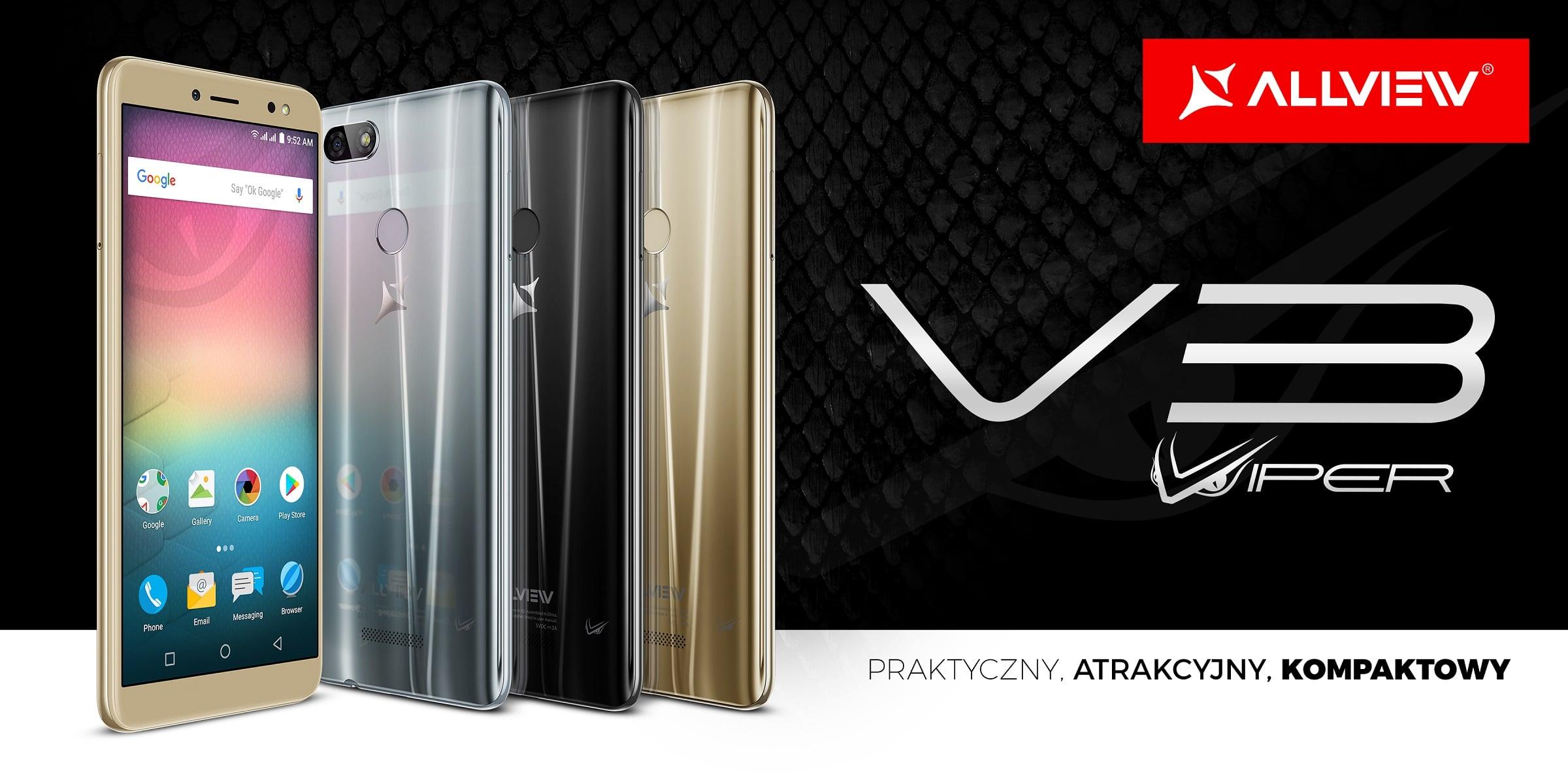 Allview prezentuje model Allview V3 Viper - niedrogi smartfon z ekranem 18:9 i Androidem 8.0 Oreo 28