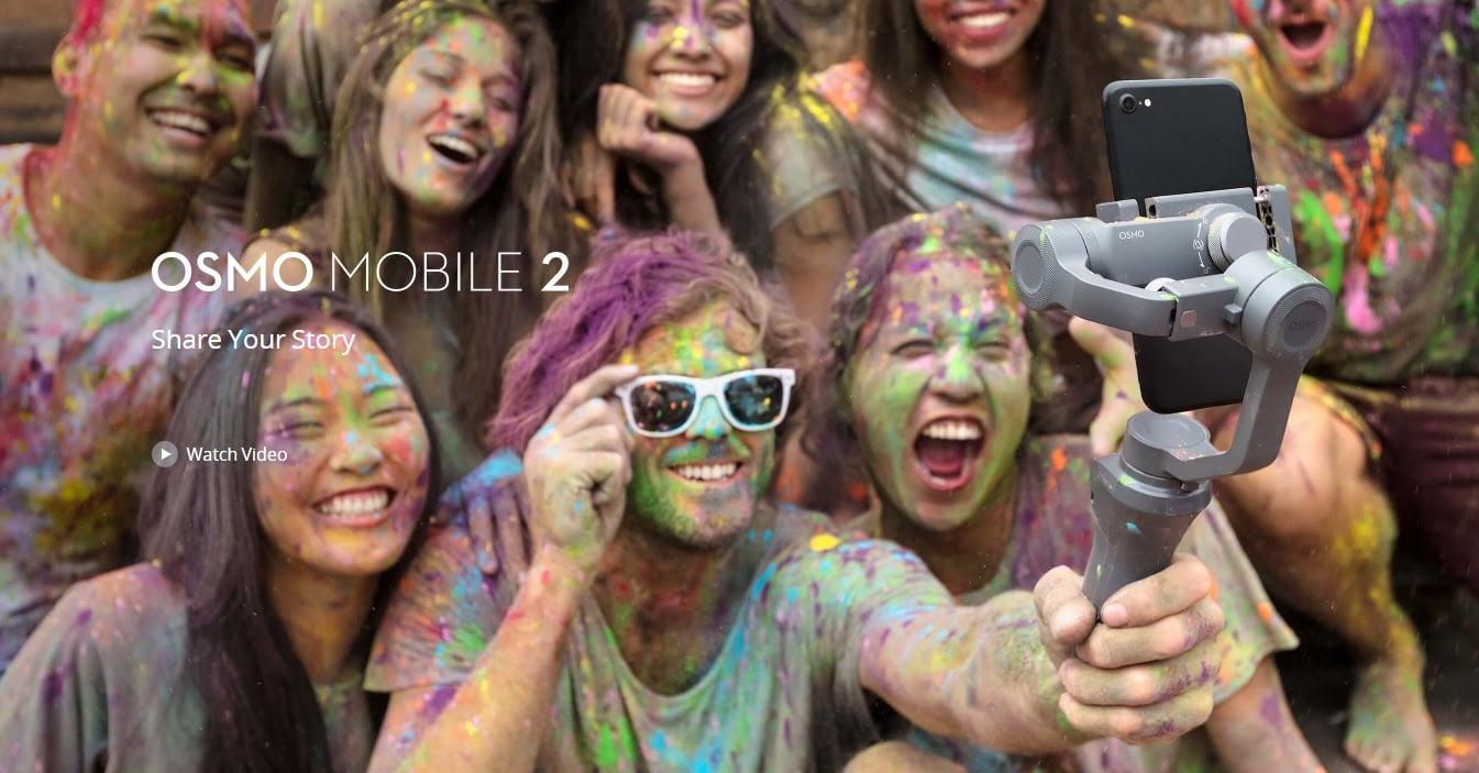 DJI Osmo Mobile 2 to ciekawy i przede wszystkim całkiem niedrogi gimbal 24