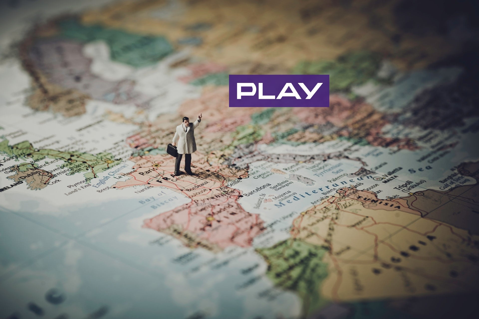 Europa Unia Europejska Play logo