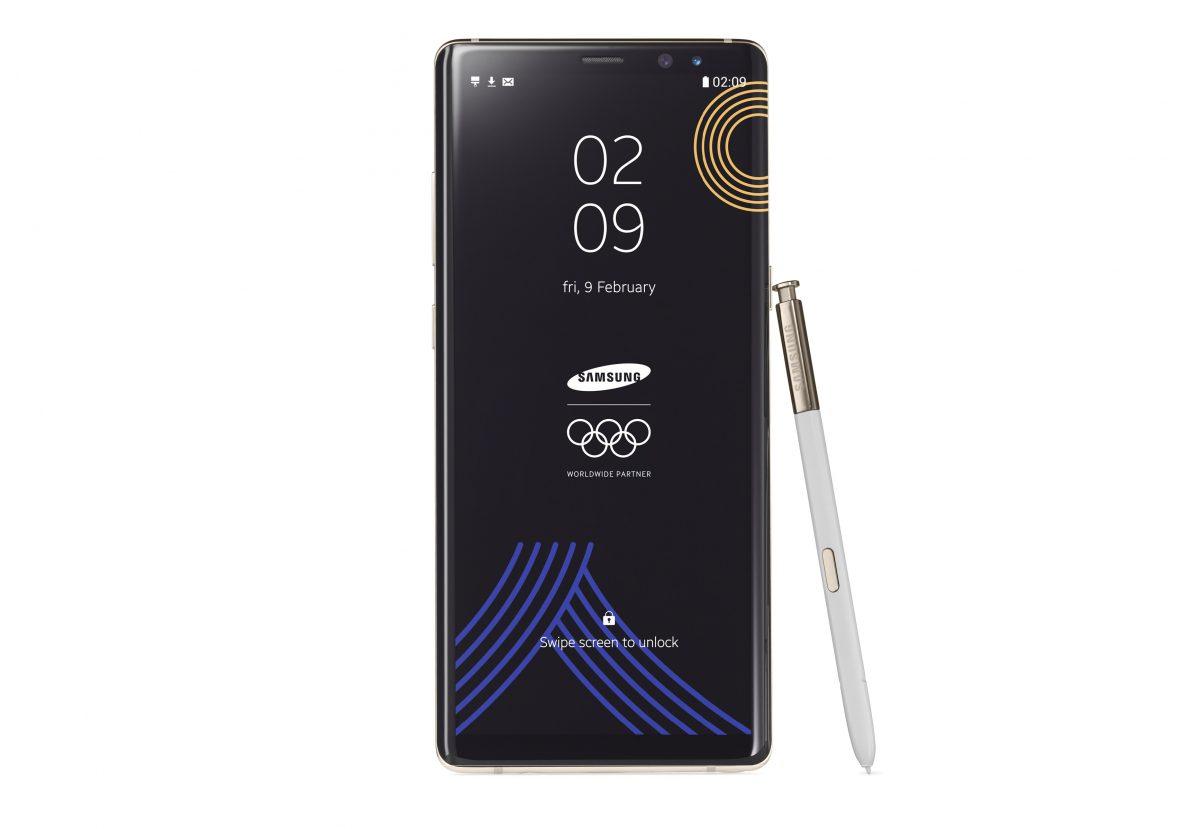 Winter Olympics Edition jest najładniejszą wersją Samsunga Galaxy Note 8, której i tak nie kupisz 25