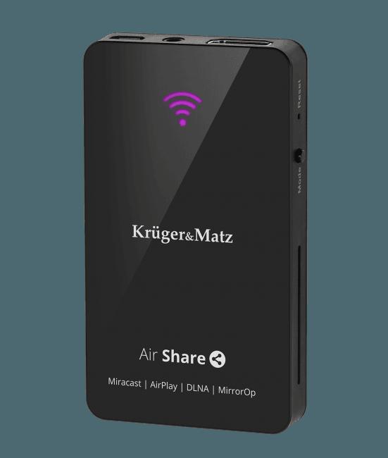 Tabletowo.pl Przystawka Kruger&Matz Air Share może zamienić każdy telewizor z HDMI w smart TV. Tak jakby Akcesoria Sprzęt TV