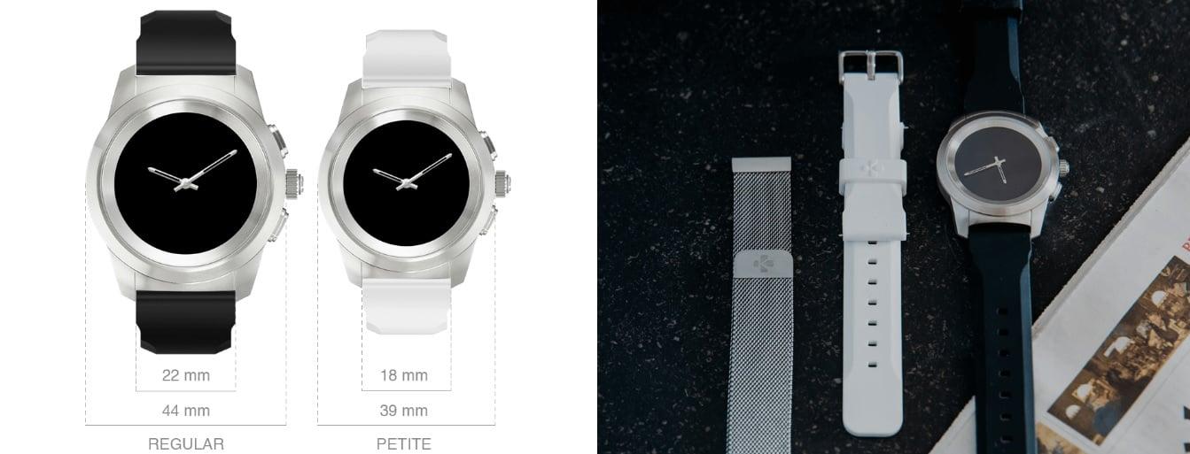 Tabletowo.pl MyKronoz ZeTime to hybrydowy smartwatch, na który jest zapotrzebowanie CES 2018 Nowości Wearable