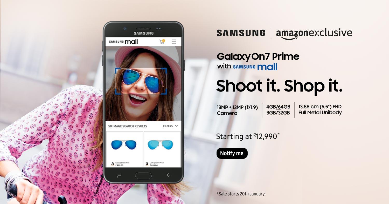 Tabletowo.pl Zadebiutował Samsung Galaxy On7 Prime. To pierwszy smartfon z obsługą usługi Samsung Mall Android Nowości Samsung Smartfony