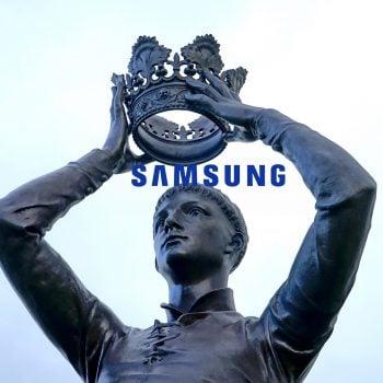 Samsung król king logo korona