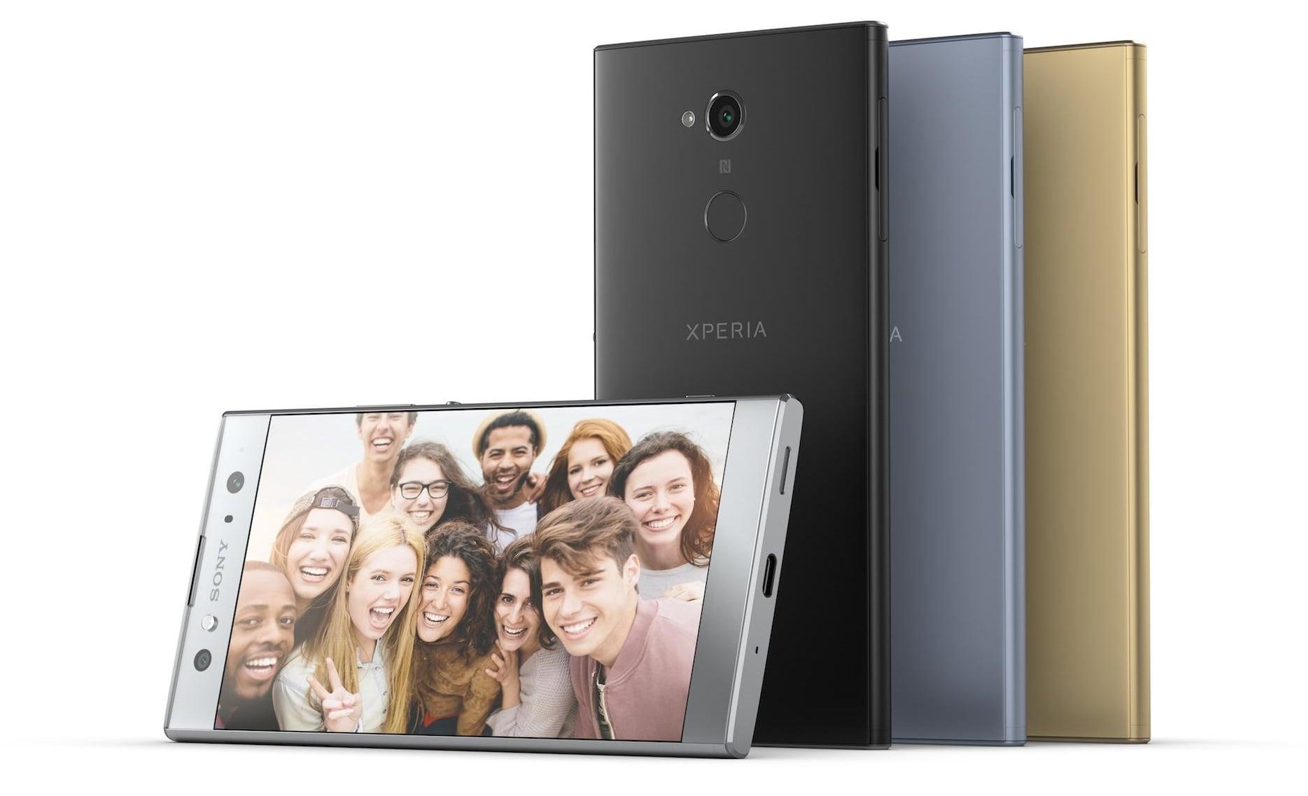 Tabletowo.pl Sony Xperia XA2, Sony Xperia XA2 Ultra i Sony Xperia L2 oficjalnie Android CES 2018 Nowości Smartfony Sony