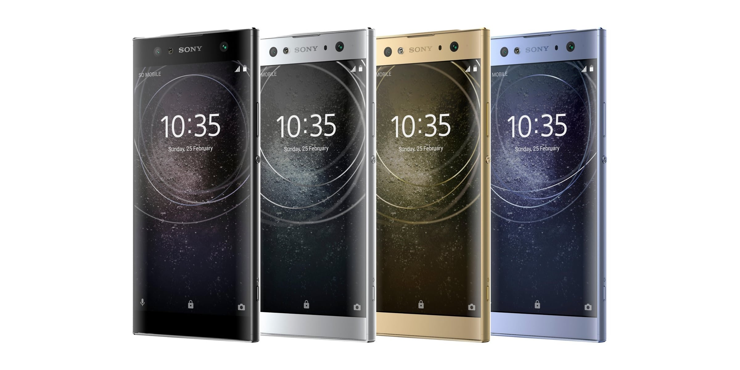 Tabletowo.pl Sony Xperia XA2, Sony Xperia XA2 Ultra i Sony Xperia L2 pozują na wysokiej jakości grafikach promocyjnych Android Plotki / Przecieki Smartfony Sony