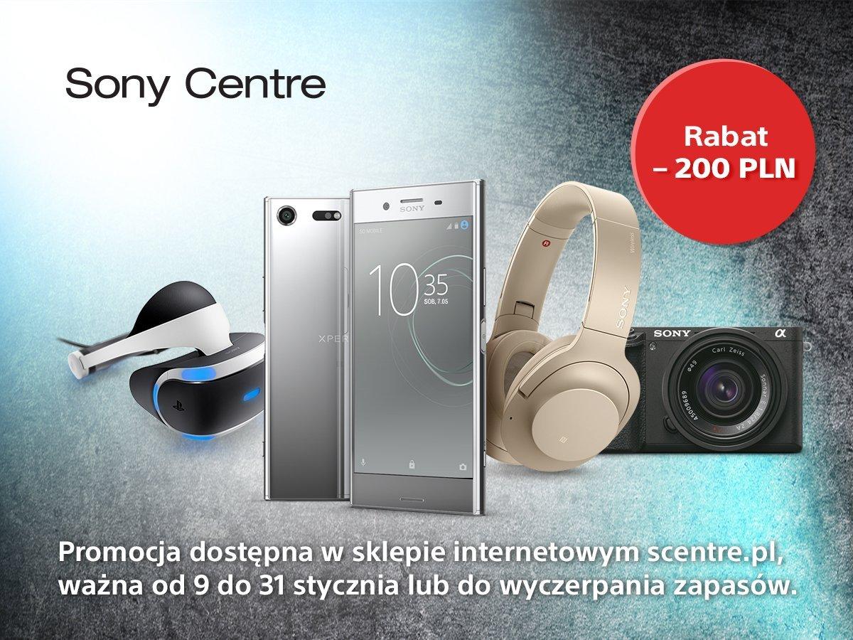 Promocja od Sony: rabat 200 złotych na zakupy w Sony Centre dla właścicieli smartfonów Xperia klasy premium 25
